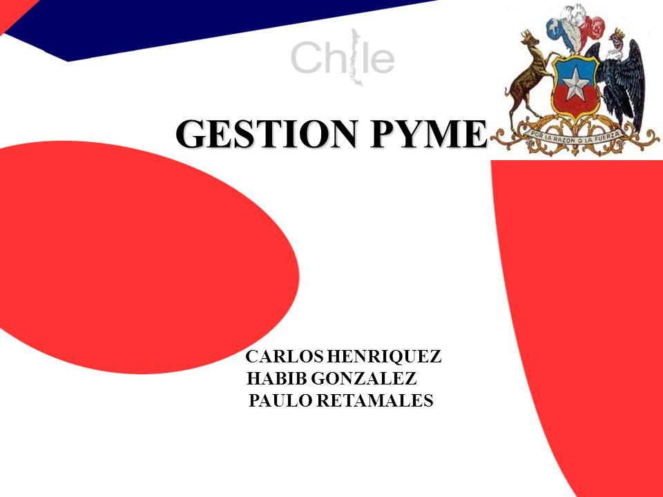 GESTION PYME CARLOS HENRIQUEZ HABIB GONZALEZ PAULO RETAMALES