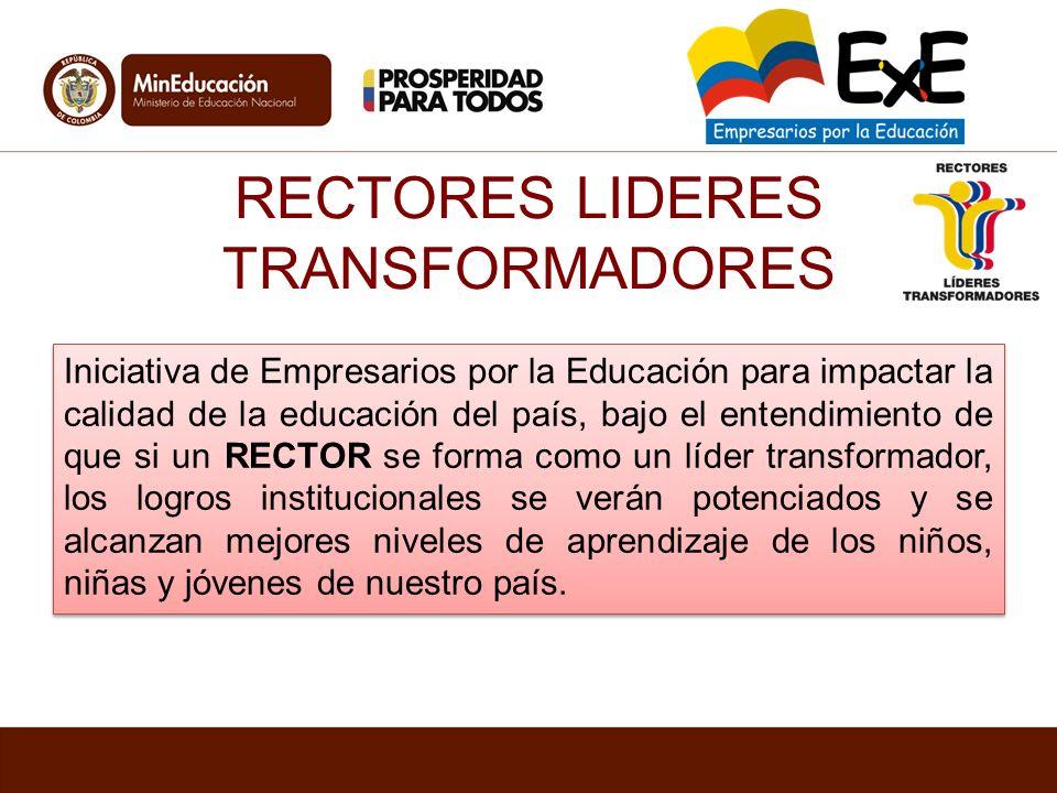 RECTORES LIDERES TRANSFORMADORES