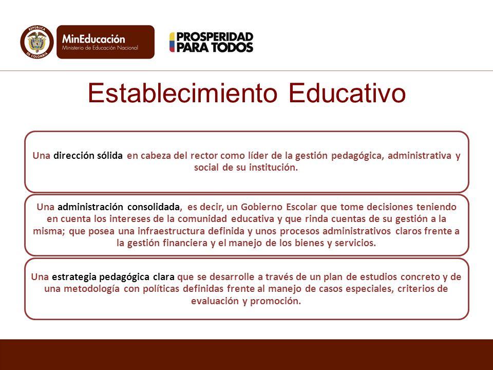 Establecimiento Educativo