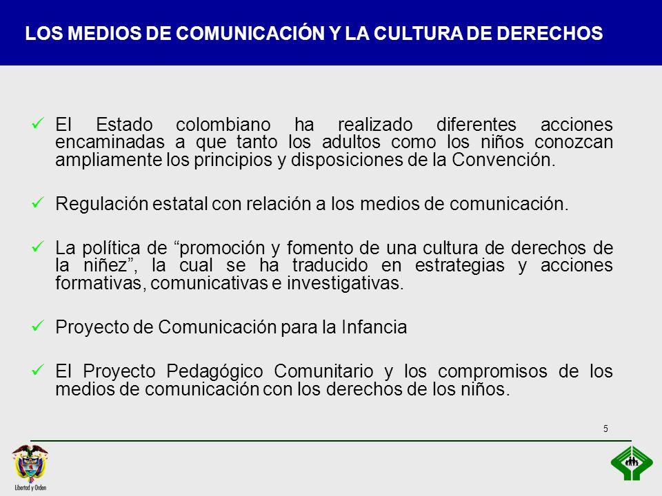 LOS MEDIOS DE COMUNICACIÓN Y LA CULTURA DE DERECHOS