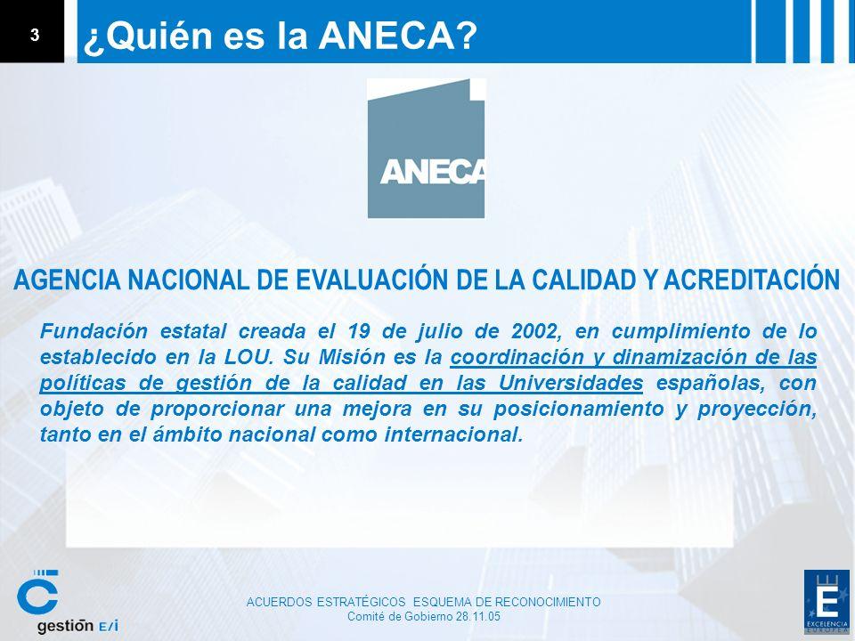 AGENCIA NACIONAL DE EVALUACIÓN DE LA CALIDAD Y ACREDITACIÓN