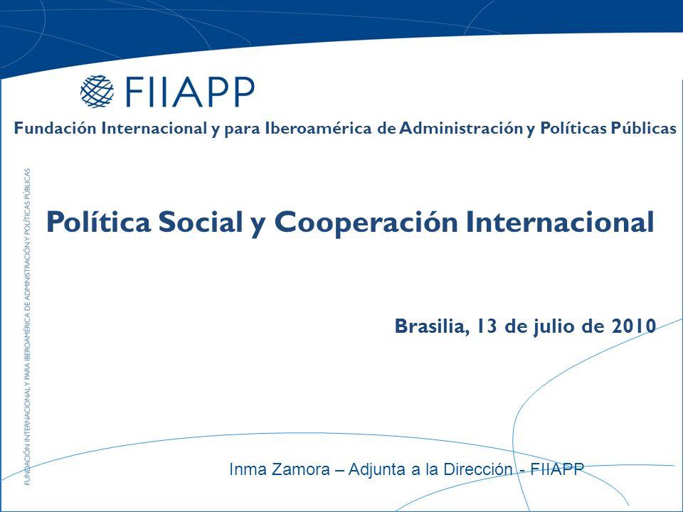 Política Social y Cooperación Internacional