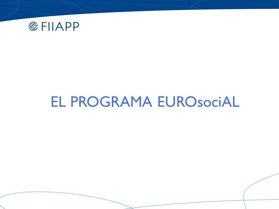 EL PROGRAMA EUROsociAL