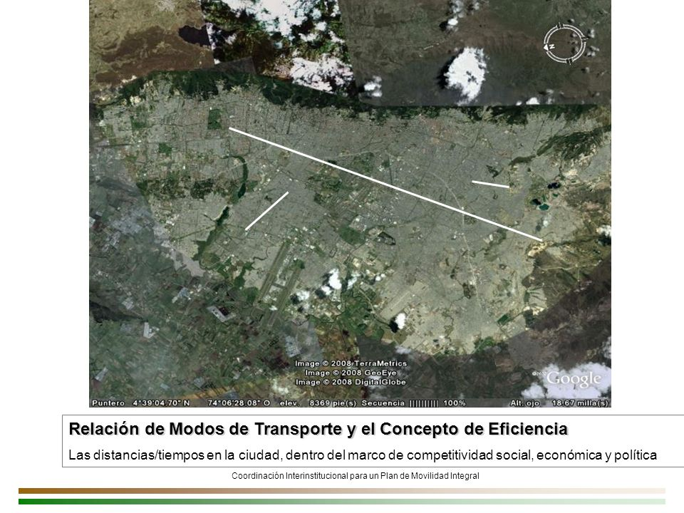 Coordinación Interinstitucional para un Plan de Movilidad Integral