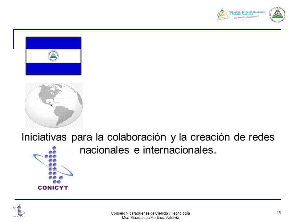 Iniciativas para la colaboración y la creación de redes nacionales e internacionales.