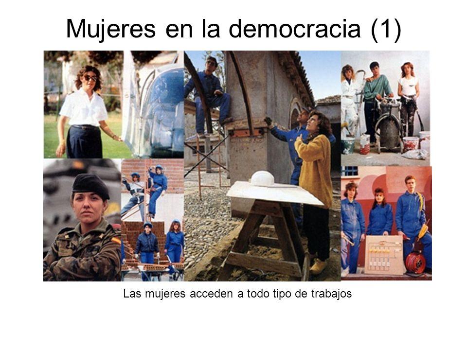 Mujeres en la democracia (1)