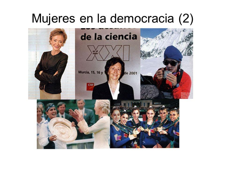 Mujeres en la democracia (2)