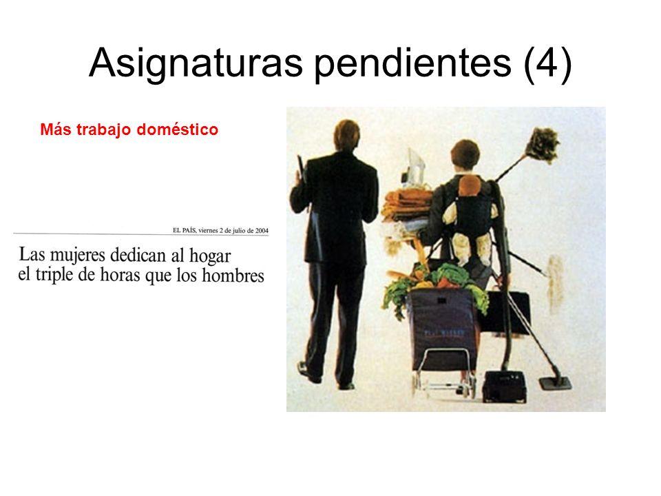 Asignaturas pendientes (4)