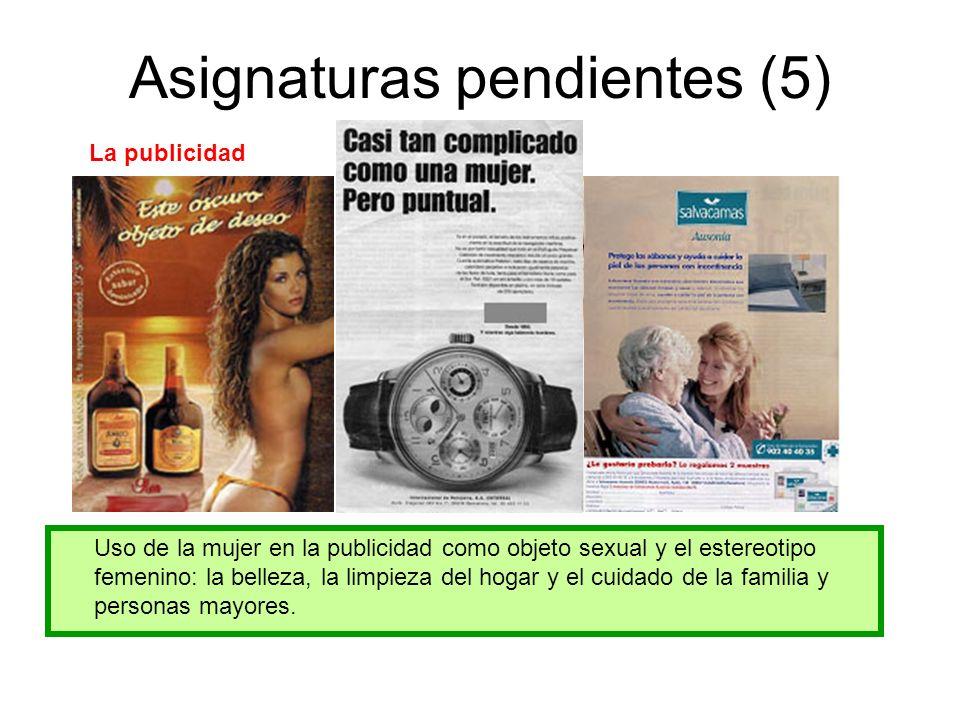Asignaturas pendientes (5)