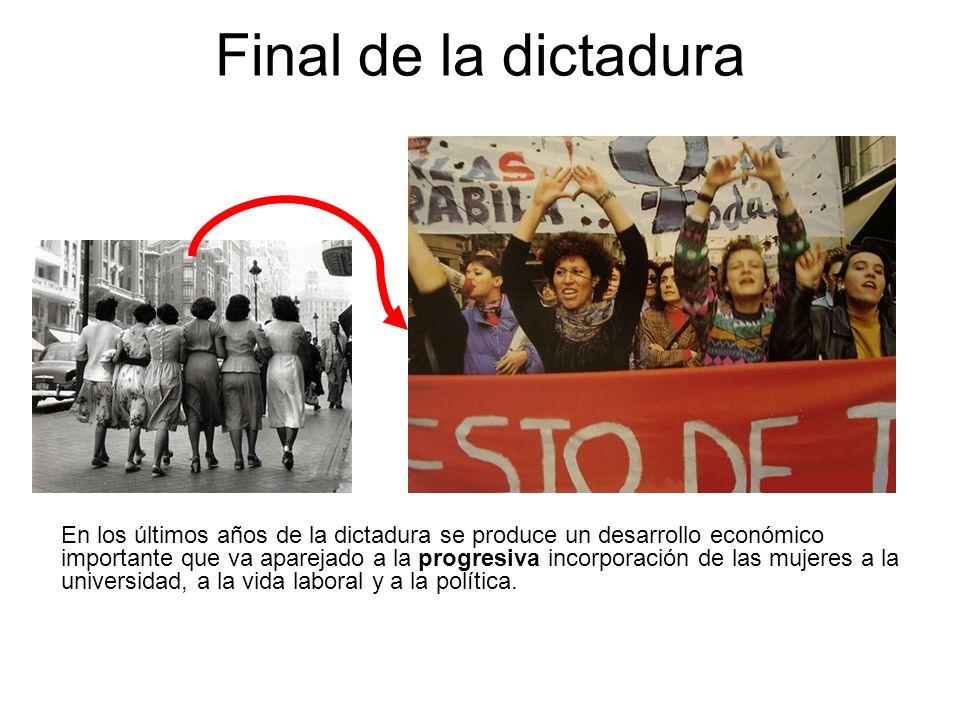 Final de la dictadura