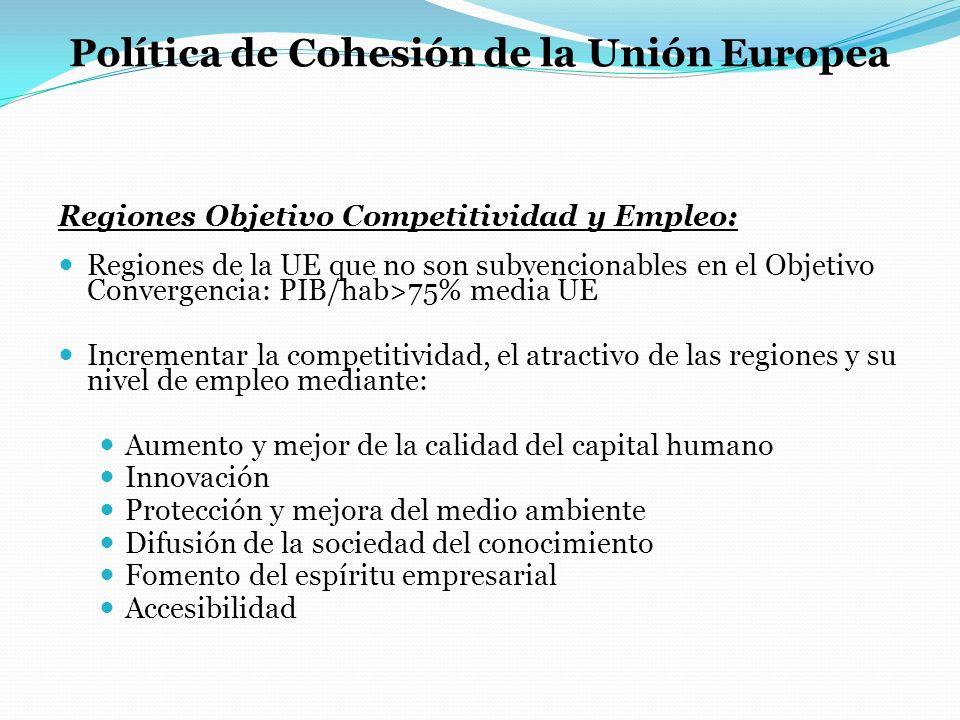 Política de Cohesión de la Unión Europea