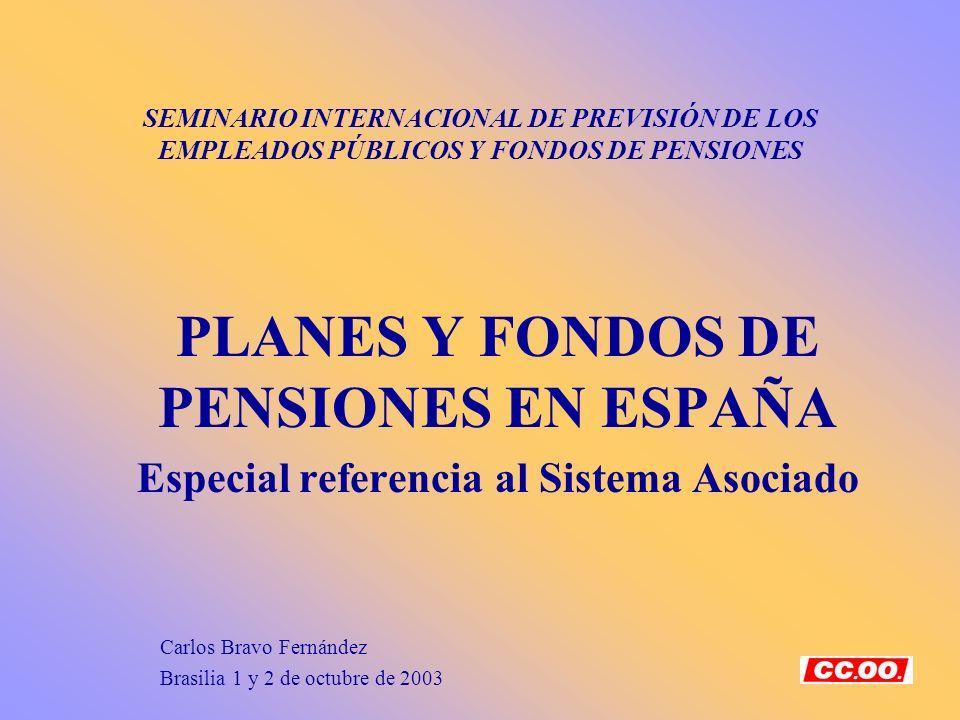 PLANES Y FONDOS DE PENSIONES EN ESPAÑA