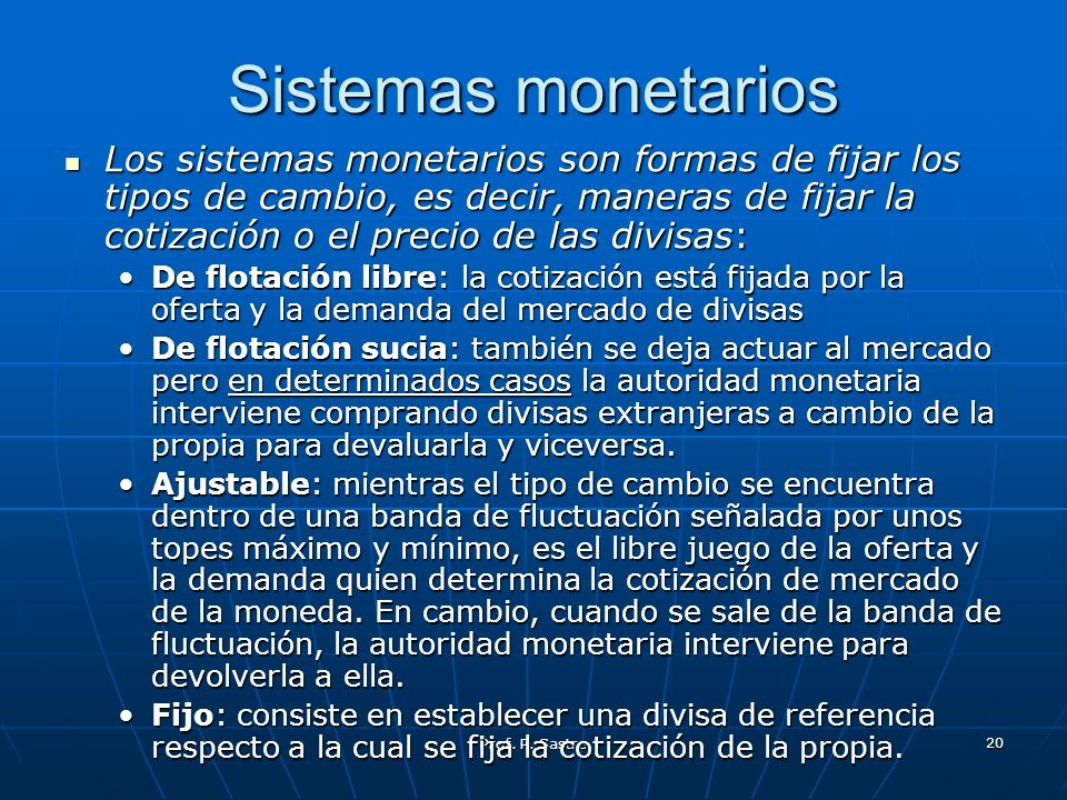 Sistemas monetarios