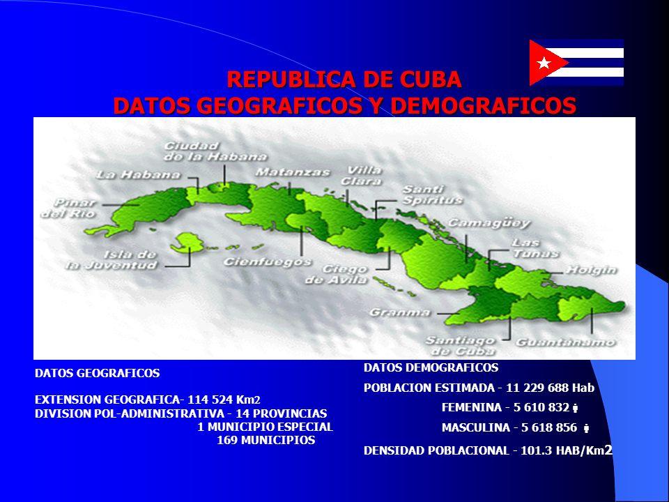 DATOS GEOGRAFICOS Y DEMOGRAFICOS