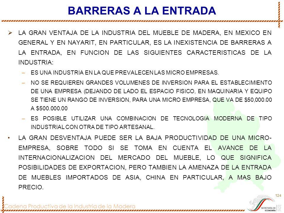 BARRERAS A LA ENTRADA