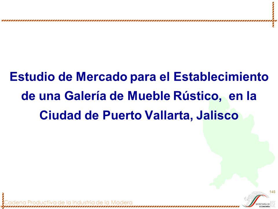 Estudio de Mercado para el Establecimiento de una Galería de Mueble Rústico, en la Ciudad de Puerto Vallarta, Jalisco