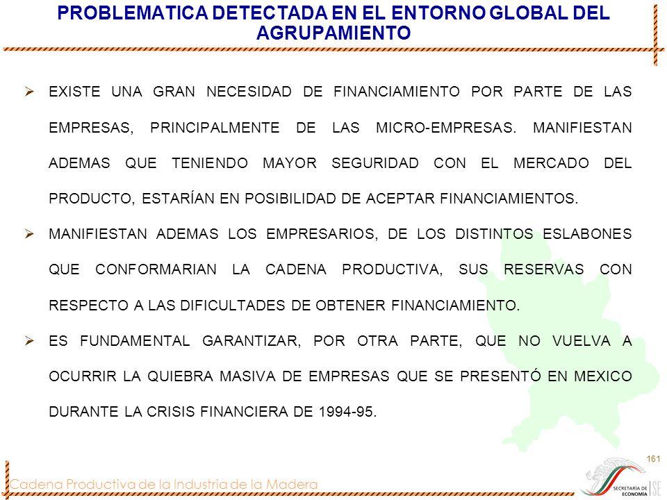 PROBLEMATICA DETECTADA EN EL ENTORNO GLOBAL DEL AGRUPAMIENTO