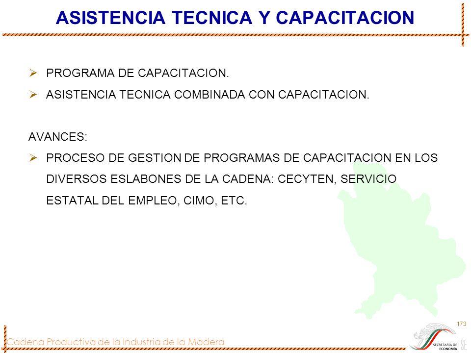 ASISTENCIA TECNICA Y CAPACITACION