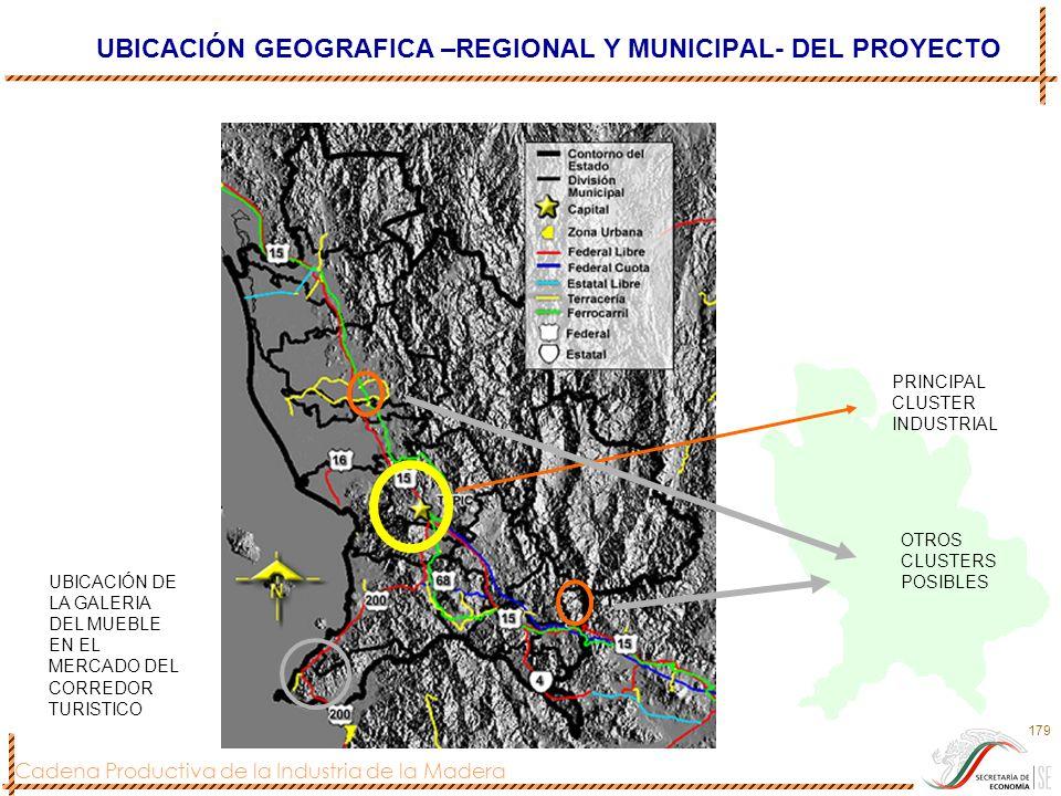 UBICACIÓN GEOGRAFICA –REGIONAL Y MUNICIPAL- DEL PROYECTO