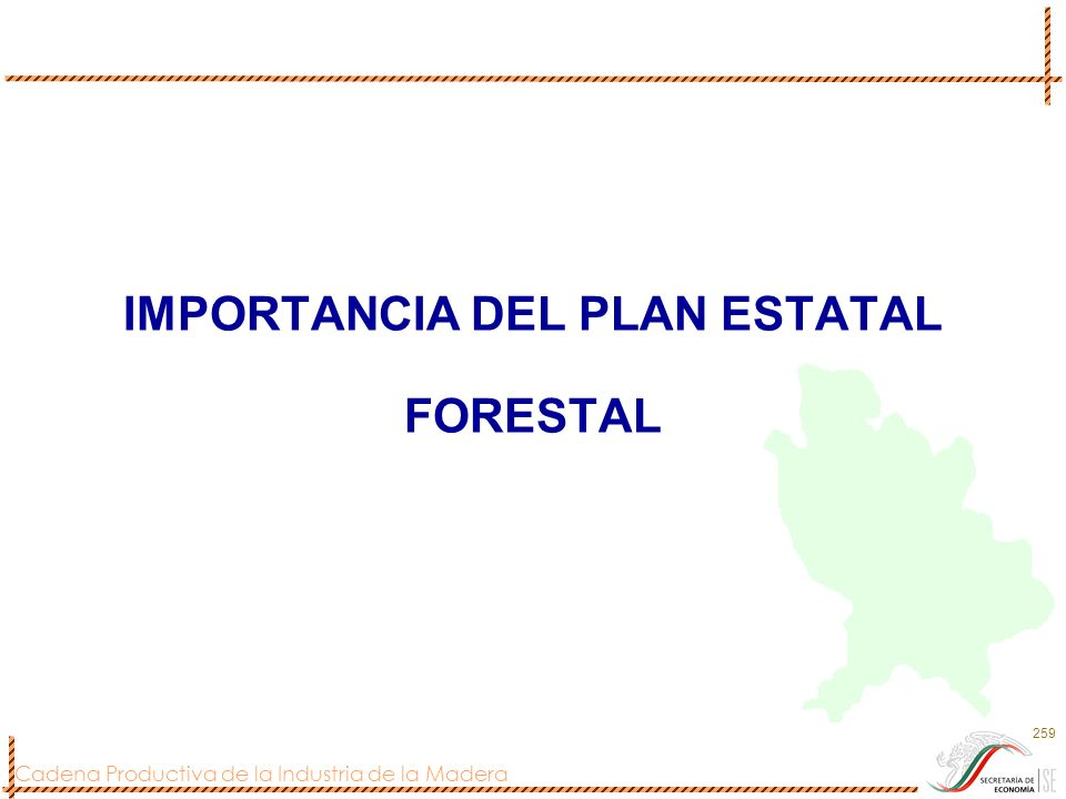 IMPORTANCIA DEL PLAN ESTATAL FORESTAL