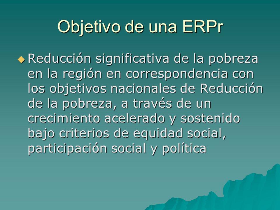 Objetivo de una ERPr