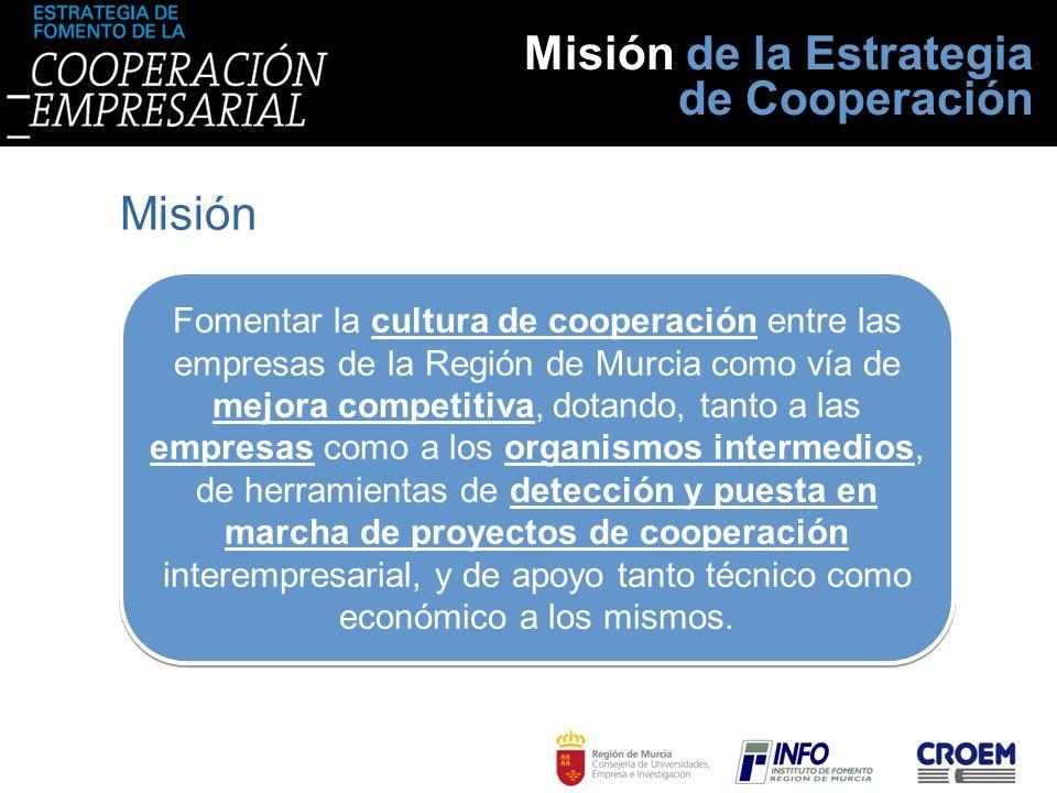 Misión de la Estrategia de Cooperación