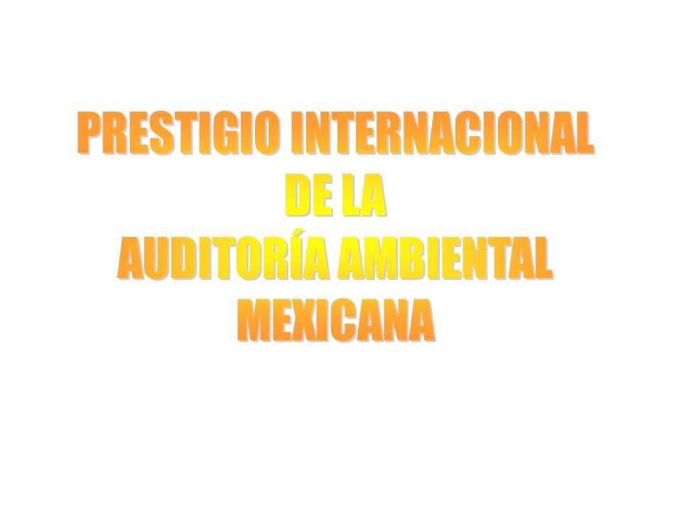 PRESTIGIO INTERNACIONAL
