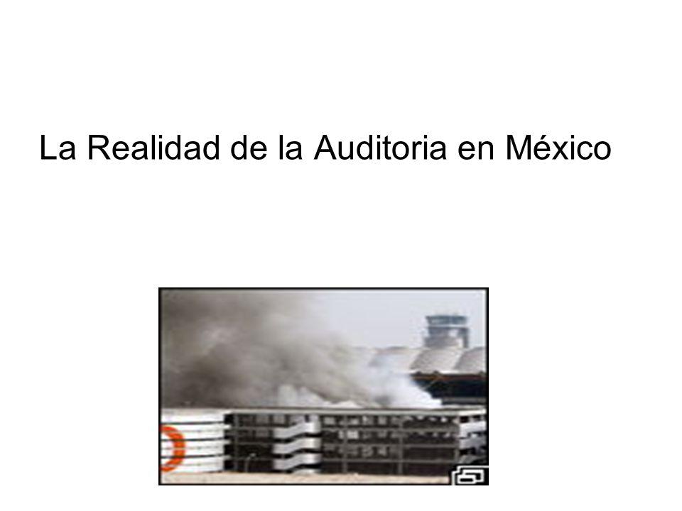 La Realidad de la Auditoria en México
