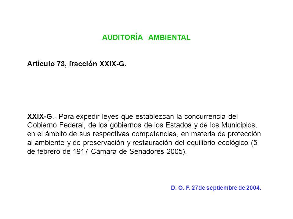 Artículo 73, fracción XXIX-G.