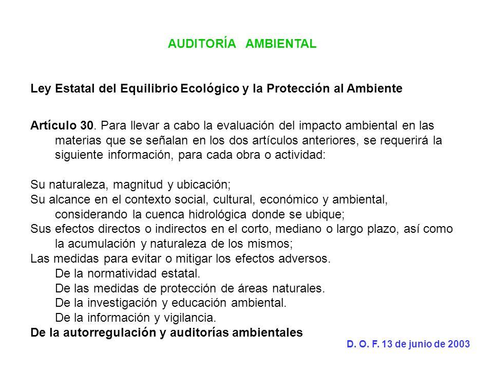 Ley Estatal del Equilibrio Ecológico y la Protección al Ambiente