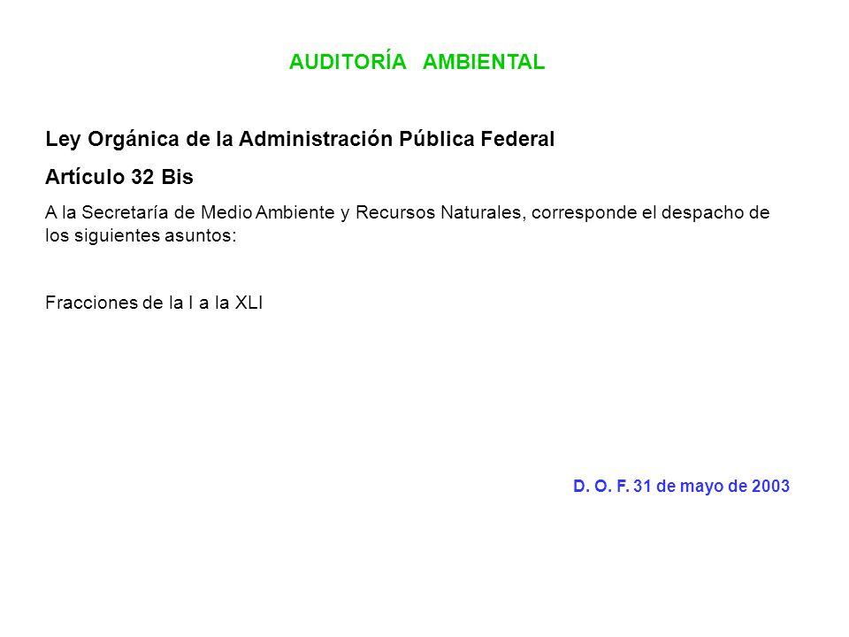 Ley Orgánica de la Administración Pública Federal Artículo 32 Bis