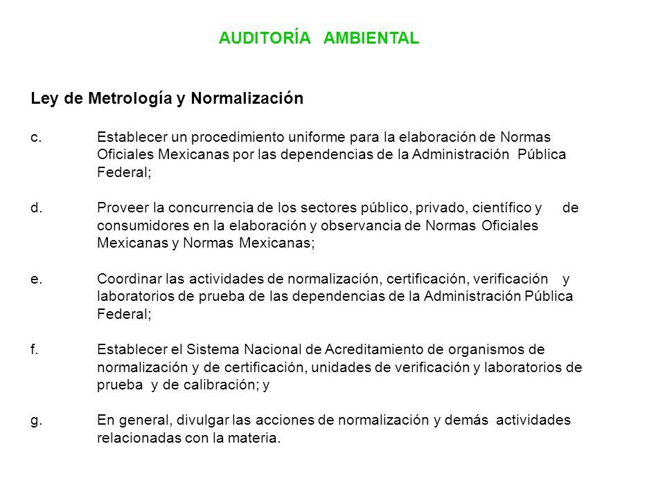 Ley de Metrología y Normalización