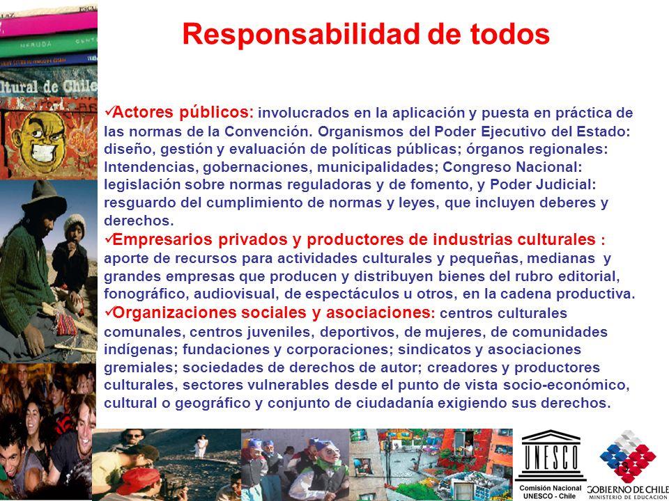 Responsabilidad de todos