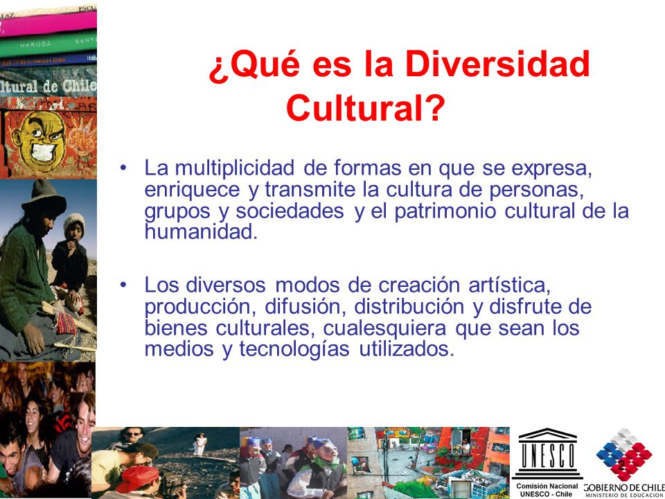 ¿Qué es la Diversidad Cultural