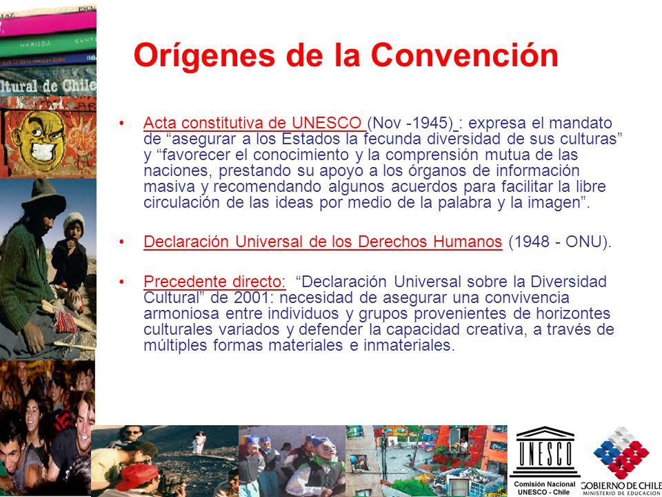 Orígenes de la Convención