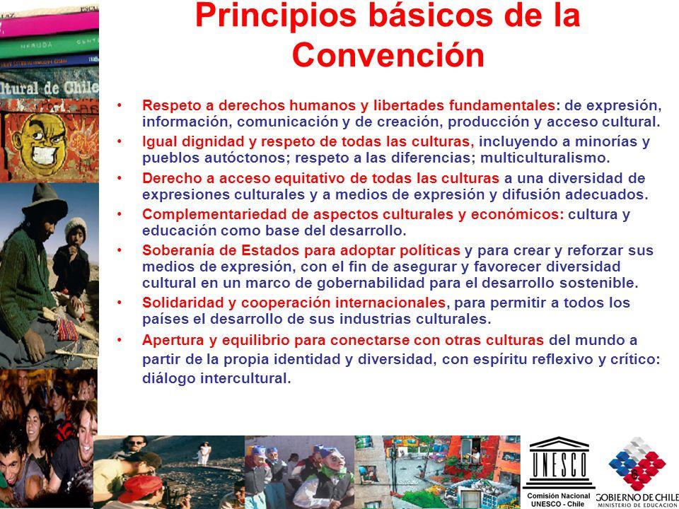 Principios básicos de la Convención