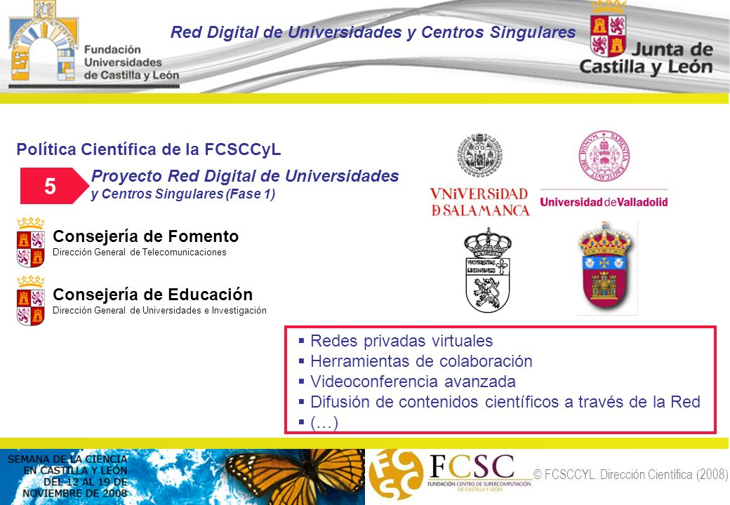 5 Red Digital de Universidades y Centros Singulares