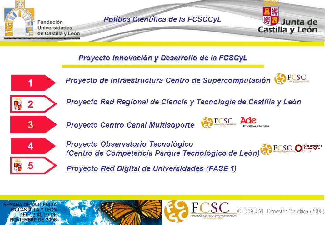 1 2 3 4 5 Política Científica de la FCSCCyL