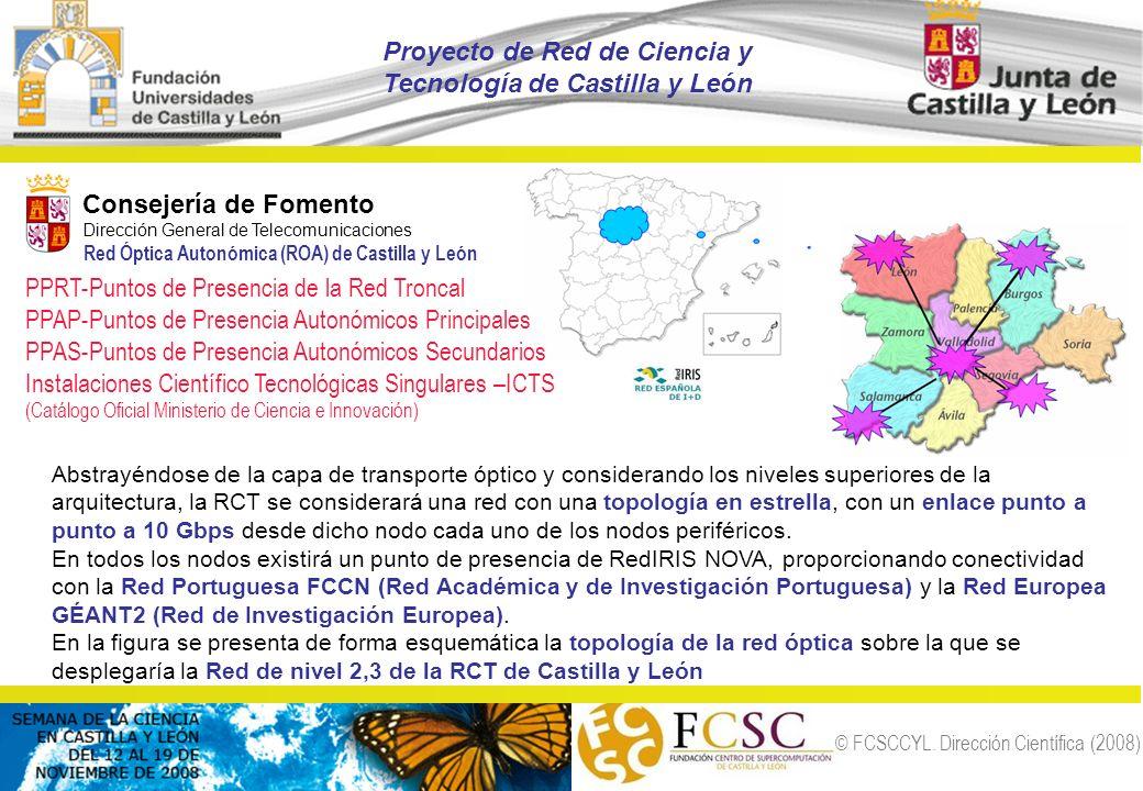 Proyecto de Red de Ciencia y Tecnología de Castilla y León