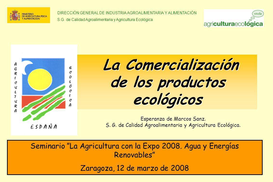 La Comercialización de los productos ecológicos