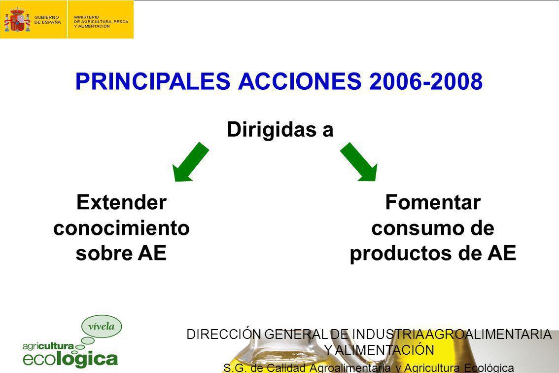 PRINCIPALES ACCIONES 2006-2008