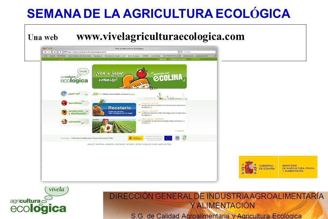 SEMANA DE LA AGRICULTURA ECOLÓGICA