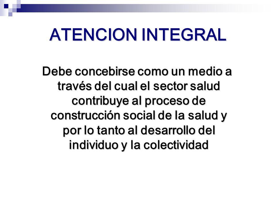 ATENCION INTEGRAL