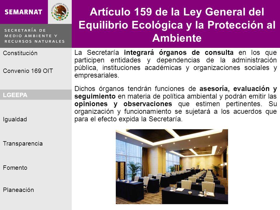Artículo 159 de la Ley General del Equilibrio Ecológica y la Protección al Ambiente