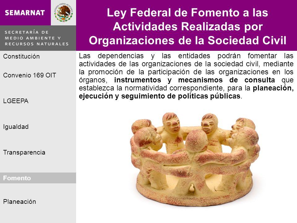 Ley Federal de Fomento a las Actividades Realizadas por Organizaciones de la Sociedad Civil