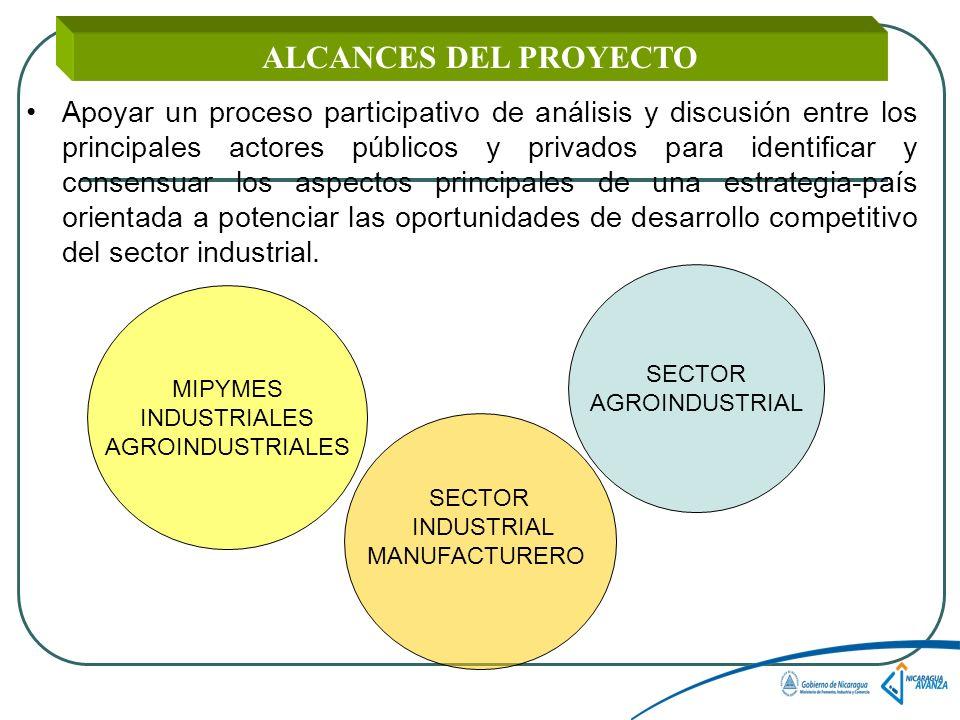 ALCANCES DEL PROYECTO