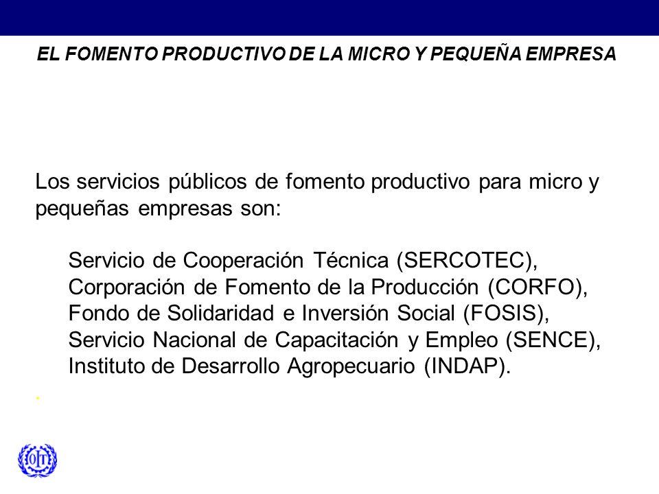 Servicio de Cooperación Técnica (SERCOTEC),
