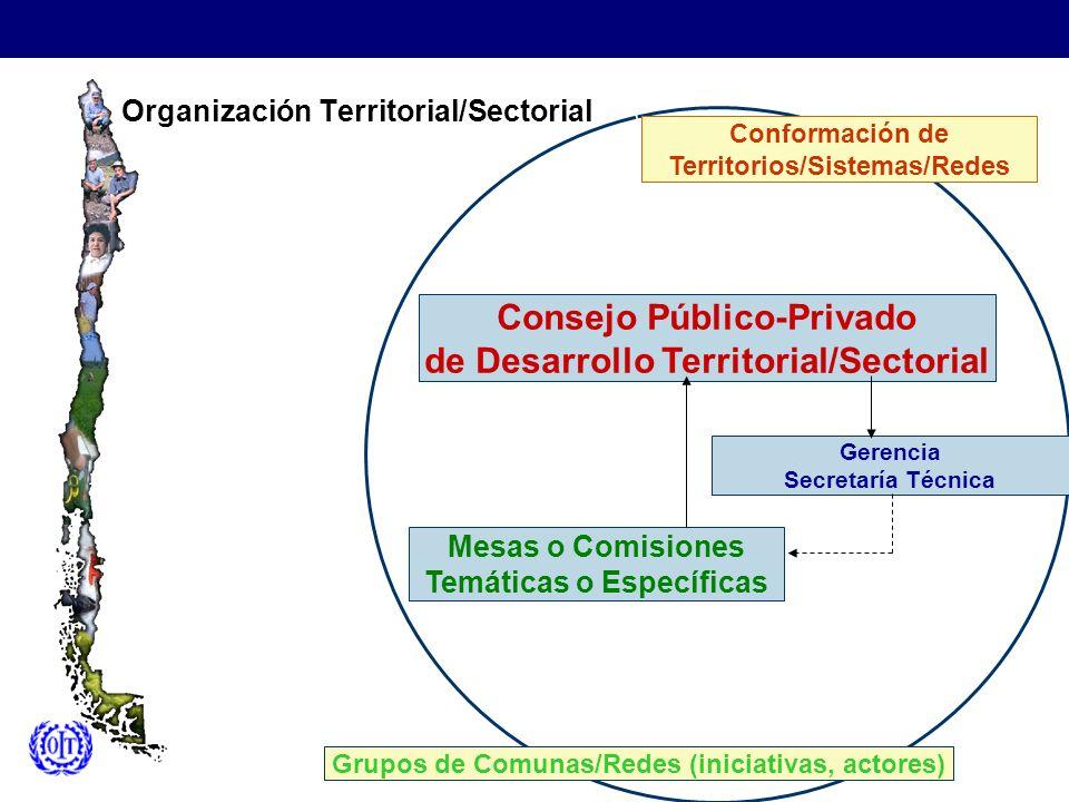 Organización Territorial/Sectorial
