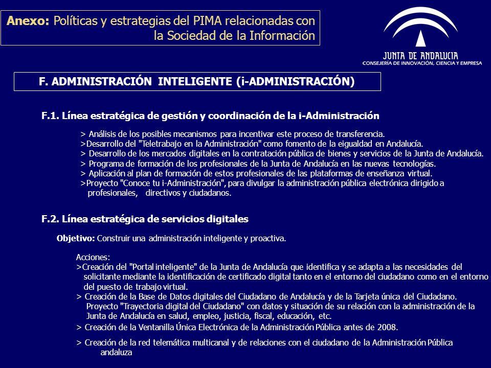 F. ADMINISTRACIÓN INTELIGENTE (i-ADMINISTRACIÓN)