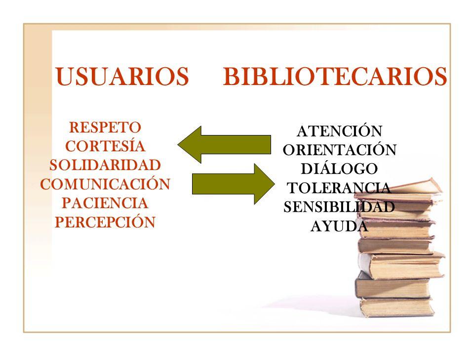 USUARIOS BIBLIOTECARIOS